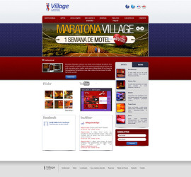 CRIAÇÃO DE SITES: WEBSITE VILLAGE MOTEL – WORDPRESS