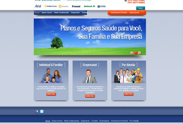 CRIAÇÃO DE SITES: WEBSITE MS CORRETORA