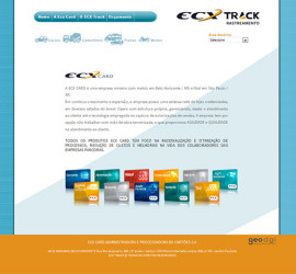 CRIAÇÃO DE SITES: WEBSITE ECX TRACK