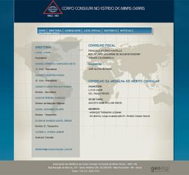 CRIAÇÃO DE SITES: Website Corpo Consular no Estado de Minas Gerais – WORDPRESS