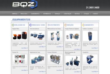 CRIAÇÃO DE SITES: WEBSITE BQZ