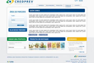 CRIAÇÃO DE SITES: WEBSITE CREDPREV