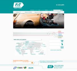 CRIAÇÃO DE SITES: WEBSITE FIT INTERCÂMBIO