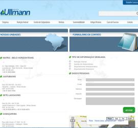CRIAÇÃO DE SITES: WEBSITE GRUPO ULLMANN