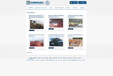 CRIAÇÃO DE SITES: WEBSITE GUIMARÃES CONSTRUÇÃO – WORDPRESS