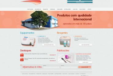 CRIAÇÃO DE SITES: WEBSITE INVITRO