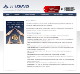 CRIAÇÃO DE SITES: WEBSITE 7 CHAVES – WORDPRESS