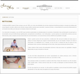 CRIAÇÃO DE SITES: WEBSITE JULIERME FARLEY – WORDPRESS