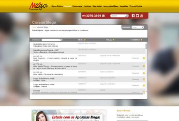 CRIAÇÃO DE SITES: WEBSITE MEGA CONCURSOS – WORDPRESS