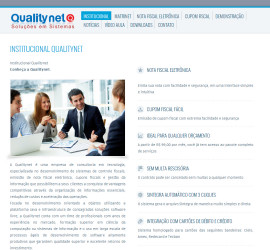 CRIAÇÃO DE SITES: WEBSITE QUALITYNET – WORDPRESS