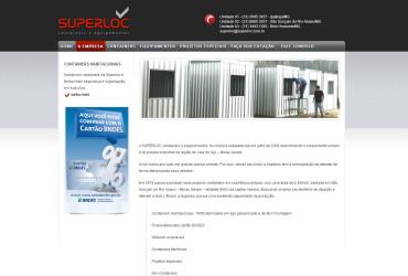 CRIAÇÃO DE SITES: WEBSITE SUPERLOC – WORDPRESS