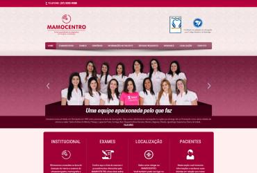 CRIAÇÃO DO SITE MAMOCENTRO: WEBSITE WORDPRESS