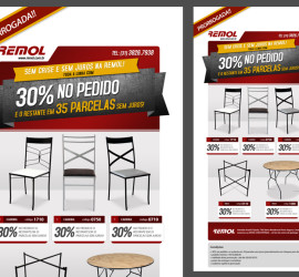 NEWSLETTER REMOL – 30% NO PEDIDO